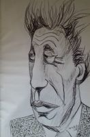 Alberto Giacometti drawing 1 by JimmyMcCullough