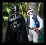 Vader and the trooper 2 by Darkside0326