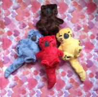 Holding Paws Otters for sale :D by Naoru