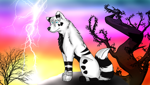 AT: Kiba by TheDaylightWolf