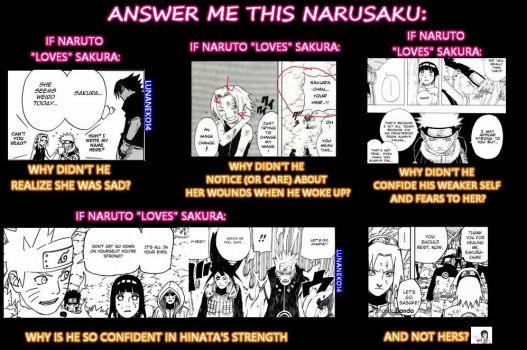If Naruto Loves Sakura by lunaneko144
