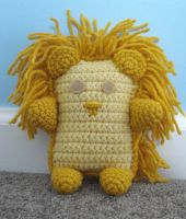 amigurumi lion by TheArtisansNook