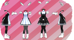 MMD Outfit 65 by MMD3DCGParts