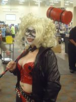 Harley Quinn Cosplay I by LolitaLibrarian