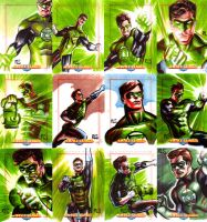 JLA Cards set 9 by ronsalas