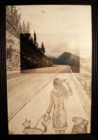 another canada drawing by Mauni