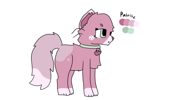 Strawberry Adopt (Closed!) by Feline-for-life