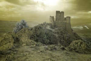 Rocca Calascio IR by not-in-my-lifetime