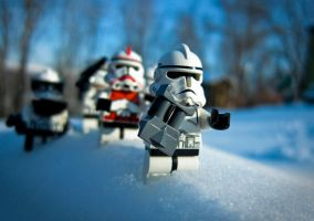 Troopers on the move.. by tonysak