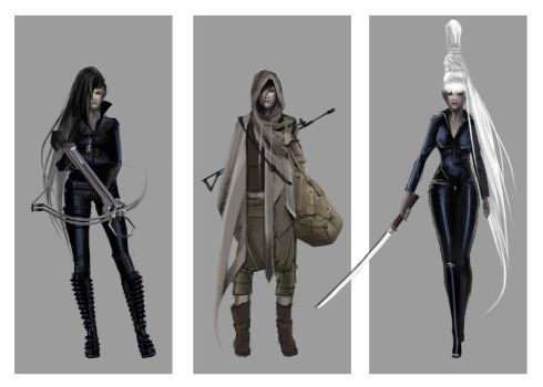 Hunter concepts by Cllaud