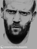 Jason Statham by Martin--Art