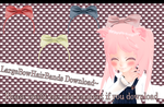 Large bow hair bands [MMD] [DL] by Deiroko