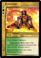 Wolverine Magic Card by WoodenOx
