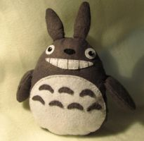 Totoro plush by PrincessNami