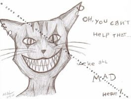 Cheshire Cat by Emmy-has-a-Gun