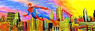 Spider-Man commission colors by CagsCreations