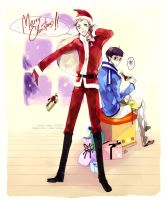 ST : Merry X'mas 2009 by mixed-blessing