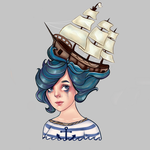 Ship to wreck by Poppeelee