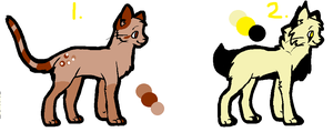 CAT ADOPTABLES OPEN by SillyPickles