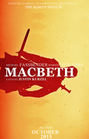 MACBETH 2015 Poster fan made by PluemKP
