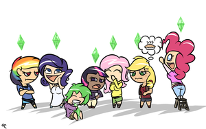 My Little Sims by DoggonePony
