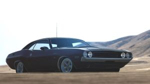 1970 Dodge Challenger R/T (Gran Turismo 6) by Vertualissimo