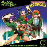 Ninja Girls with UDON Noodles by theCHAMBA