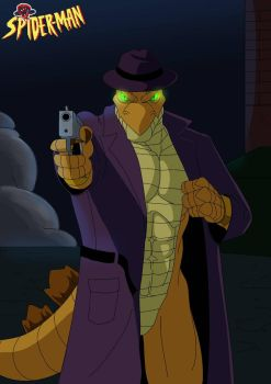Comm:  Stegron in Spider-Man: TAS Style by Bahamut-255