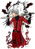Dante + Devil May Cry by BlackKrogoth