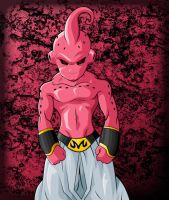 Kid Buu Coloured by YoungTalent93