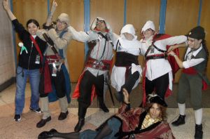 Metrocon 2012: Assassin's Creed - Happy Together by Cynuyasha