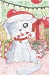 Christmas Cat by forever-a-doodler