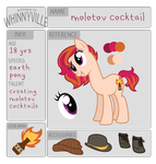 wv app: molotov cocktail by ivyshire