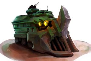 Beetle Tank III by NCurtiss