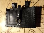Leather spellbook pouch by LeTrefle
