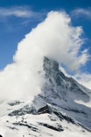 Wind over the Matterhorn by annamarcella24