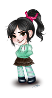 WiR - Vanellope by x-Lilou-chan-x