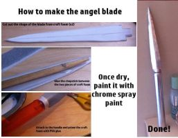 How To Make The Angel Blade from 'Supernatural' by tardisfullofponds