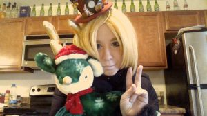 Merry christmas from Ed Elric by KeraValentine