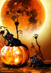 Kitten Halloween by tinca2