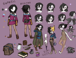 Character ref: Serena by Xilent-Knights