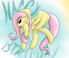 Flutterbirthday by TheImmolatedPoet