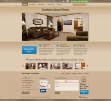 Southern Colonel Homes Website by HappyCatfishWeb