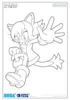 Lil Channel Coloring Page 2 by Fuzon-S