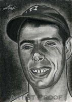 Joe DiMaggio by machinehead11