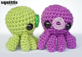 green + purple octo by adorablykawaii