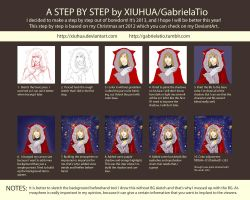 Step by Step: Christmas Art 2012 by xiuhua