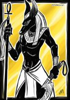 Anubis by Greykitty