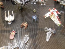 Lego Star Wars starships by V-kony