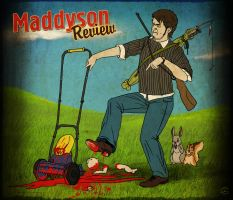 Mad vs. Lawn mower by TovMauzer